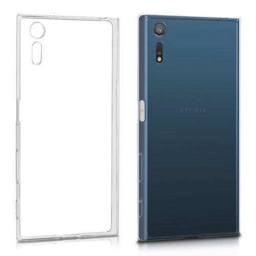 Sony Xperia XZ Hülle Case , MENGGOOD Hoch Transparent Schutzhülle TPU Klarer Cover Komplett Schutz Bumper Durchsichtig Handyhülle für Sony Xperia XZ - Anti-Rutsch Case