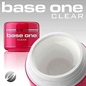 Silcare UV-Gel BaseOne Builder Clear Klar säurefrei 50g (Uv Builder Gel)
