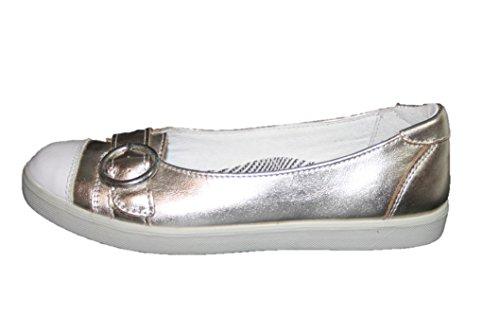 Ricosta 37209/48520 Mädchen Ballerinas , Mittel Gold