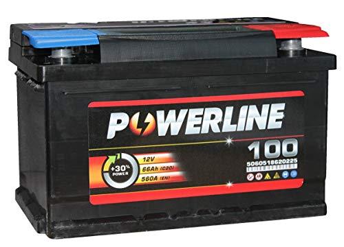 100 Powerline Autobatterie 12V