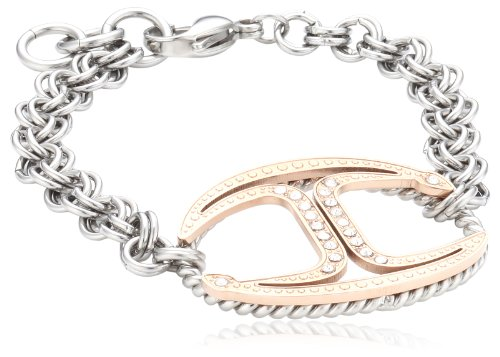 Just Cavalli Damen Armband Edelstahl Just Street pink SCAAD08