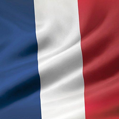 Apple iPhone 5s Case Skin Sticker aus Vinyl-Folie Aufkleber Frankreich Flagge France Fahne DesignSkins® glänzend