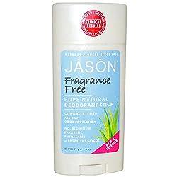JASON NATURAL - Fragrance Free Deodorant Stick - 2.5 oz. (71 g)