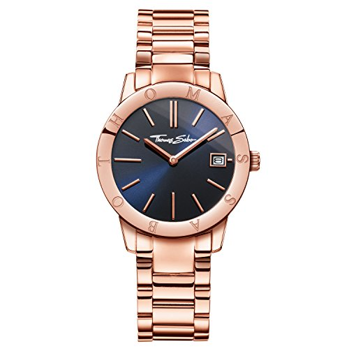 Thomas Sabo Women's Watch Soul Rose Gold Blue Analogue Quartz