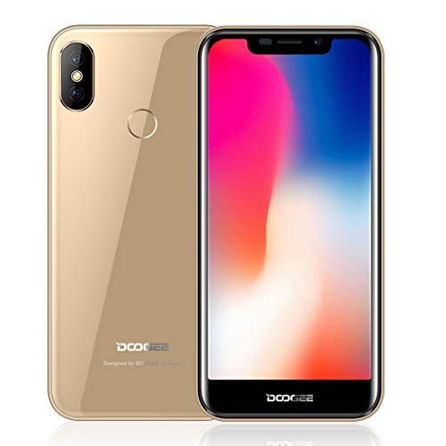 CELINEZL Mobile Phone Dual Back Cameras, Identification des Empreintes  digitales des Visages et des Contacts, 5 5 Pouces Android 8 1 MTK6580A Quad
