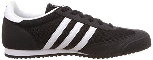 adidas Dragon J, Sneaker Unisex – Bambini Black (Core Black/Ftwr White/Core Black)