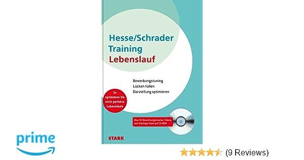 Hesseschrader Training Lebenslauf Jürgen Hesse Hans Christian