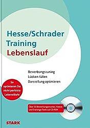 Hesse/Schrader: Training Lebenslauf