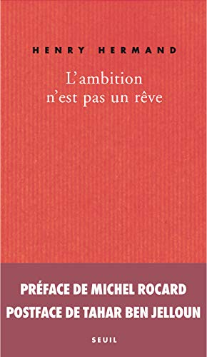 L'ambition n'est pas un rêve