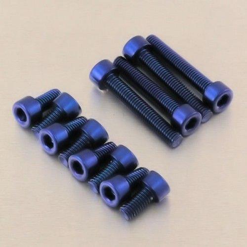 Preisvergleich Produktbild Kit vis trappe de réservoir en aluminium Moto Guzzi Griso 1100 05-08 Bleu