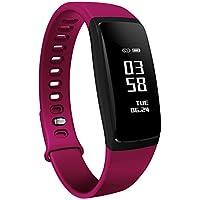 Aupalla 21 BP Fitnesstracker, intelligentes Activity-Tracker-Armband, mit Blutdruckmessung und Herzfrequenz-Monitor... preisvergleich bei billige-tabletten.eu