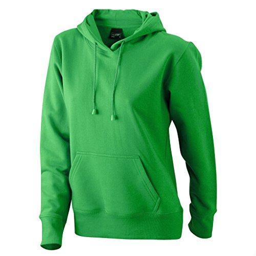 JAMES & NICHOLSON Sweat-shirt a capuche vert-fougere