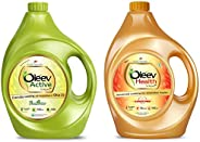 Oleev Active, with Goodness of Olive Oil Jar, 5000 ml + Oleev Health Oil, for A Healthy Heart Jar, 5000 ml