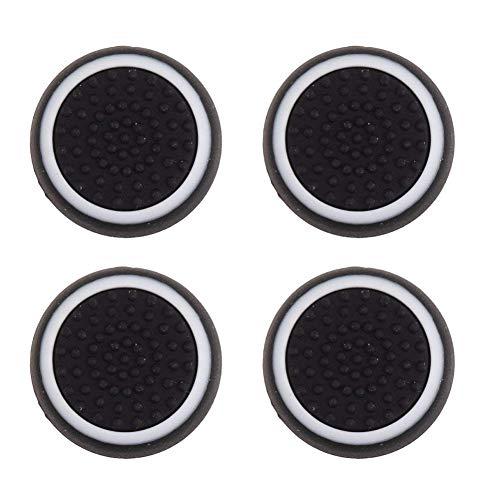Cache Griff Zoll Silikon PS3 / PS4 / Xbox ONE/Xbox 360, schwarz und weiß 4 ()