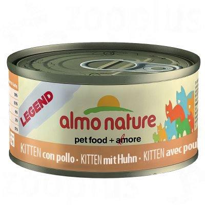 Almo Nature HFC Kitten Pollo comida húmeda para gatitos