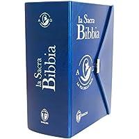 La Sacra Bibbia. Ediz. piccola con bottoncino blu