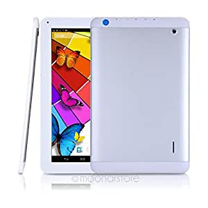 """1st choice AM-1006 10.1"""" 3G Tablet PC 6000mAh MTK8382 Quad core 1.2GHz 1GB/8GB Android 4.2 WIFI GPS Bluetooth 45JDA1048 #-# Color#=White"""