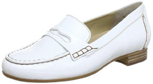 Hassia 5-302344-02000, Mocassins femme Blanc (Weiß 0200)