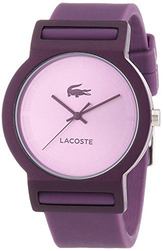 Lacoste - 2020075 - Montre Mixte - Quartz Analogique - Bracelet Silicone Violet