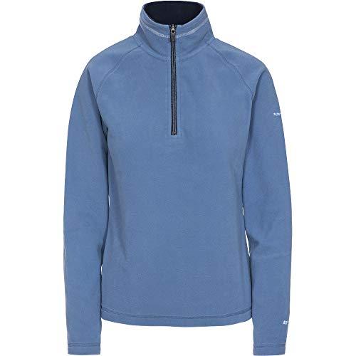 Trespass Womens Skylar AT100 Half Zip Microfleece Jacket Womens Half Jacket