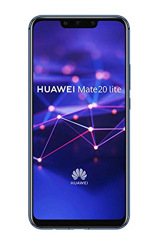 Huawei Mate 20 Lite Dual-SIM Android 8.1 Smartphone mit Dual-Kamera, sapphire blue (West European Version)