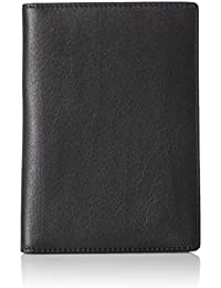 AmazonBasics - Cartera de Piel para Pasaporte con Bloqueo RFID