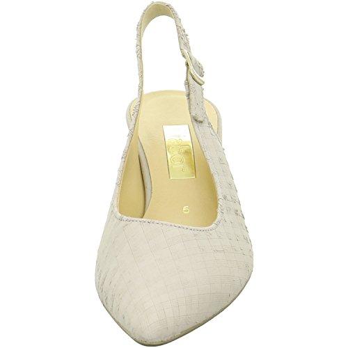 Gabor 41550-43, Sandalias Mujer Blanco (winterweiß)