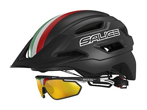 SALICE Helm Bike XS TG. 51-56 Unisex Erwachsenengröße Schwarz