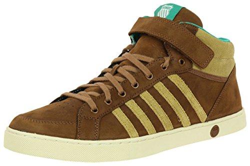 K-Swiss Adcourt 72 Premium Mid Strap chaussures marrón - marrón