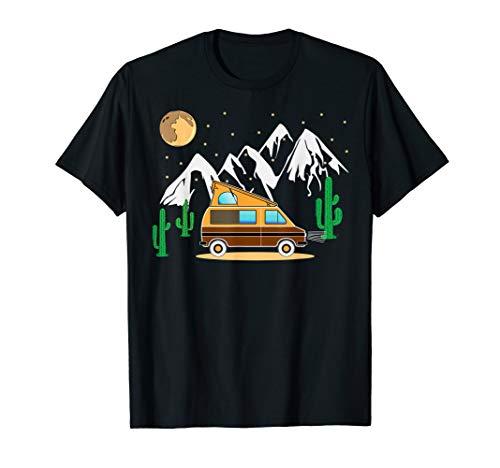 Camper Van Shirt - DIY Camping Auto mit Hochdach -