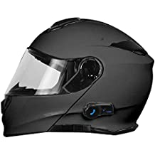 Origine Helmets Casco de moto Delta Solid Matt, desmontable, con Bluetooth integrado, color titanio, talla XS, 204271723600002
