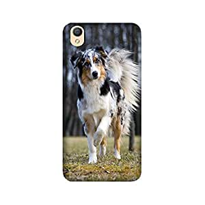 theStyleO Premium Quality Designer Printed Case & Cover for Oppo A37 (Dog)