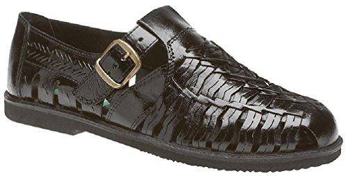 Gordini, Sandali uomo Black Leather