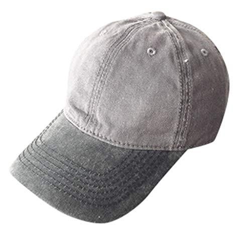 Syeytx Männer Frauen Baseball Caps Mode Einstellbare Baumwolle Farbabstimmung Gebogene Kappe Stern Strass Kappe