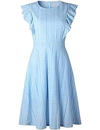 size 40 3155f e9b2c Amazon.it: abito azzurro: Abbigliamento