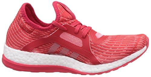 adidas Pureboost X, Chaussures de Running Femme, Violet Rouge (rojray/rosvap/ftwbla)