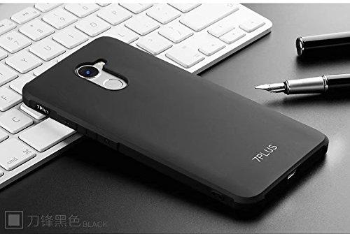 YHUISEN Huawei Y7 Prime Case, echte Qualität TPU Ultra schlanke Schutzhülle Silikon Shockproof Cover für Huawei Enjoy 7 Plus / Huawei Y7 Prime ( Color : Black , PATTERN : Dragon Pattern ) Black