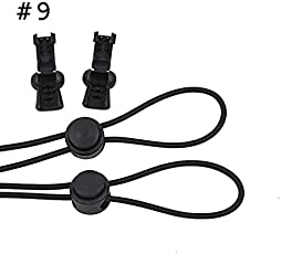 Shopystore 1Pair No Tie Shoe Laces Elastic And Reflective Shoelaces With Lock F