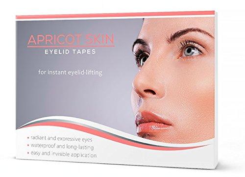 APRICOT® SKIN Eyelid Tapes / Schlupflidtape (96 Stück / Größe S+M) - für ein sofortiges Augenlid-Lifting! NEU!