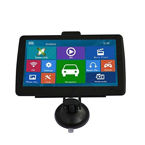 Ferrell 2336/5000 7-Zoll-Auto LKW GPS Navigation HD Display Bluetooth Navigator mit kostenlosen Karte
