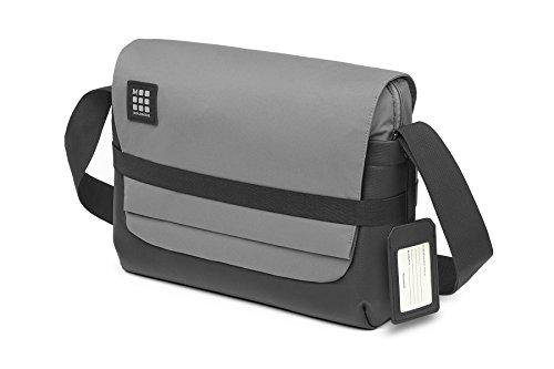 Moleskine ID Messenger Tasche Umhängetasche, 39 cm, Schiefergrau