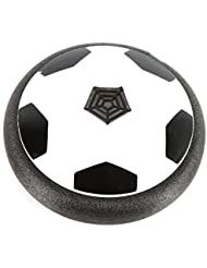 Onewell Air Power Soccer Disc Gliding Floating LED Light Flashing Football Game Indoor Toy
