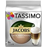 Tassimo Jacobs Latte Macchiato (8 Portions) (Pack de 2)