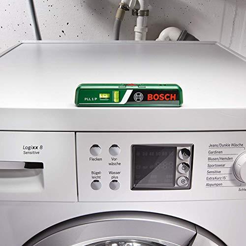 Bosch DIY Laser-Wasserwaage PLL 1 P, Batterien, Universalhalterung, Karton (Arbeitsbereich Linienlaser 5 m, Arbeitsbereich Punktlaser 20 m, +/- 0,5 mm Messgenauigkeit) - 5