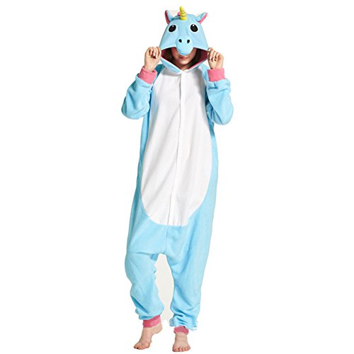 Eule Jumpsuit Tier Cartoon Fasching Halloween Kostüm Sleepsuit Unisex Tier Cosplay Fleece-Overall Pyjama Schlafanzug (Erwachsene Halloween Faul Für Kostüme)