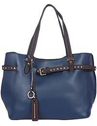 Fur Jaden Navy Women's Tote Handbag For Women With Sling Bag Combo