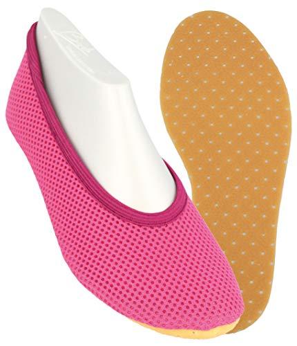Beck AirBecks 026, Unisex-Kinder Gymnastikschuhe, Pink (pink 06), EU 31