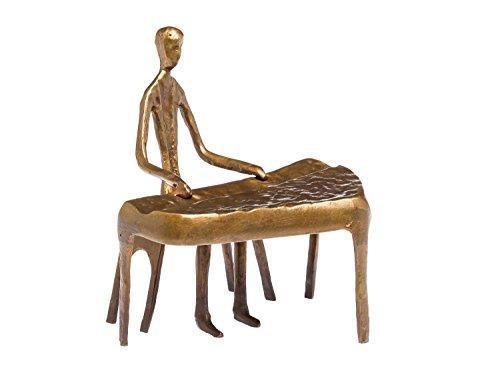 Escultura Pianista Piano del teclado de...
