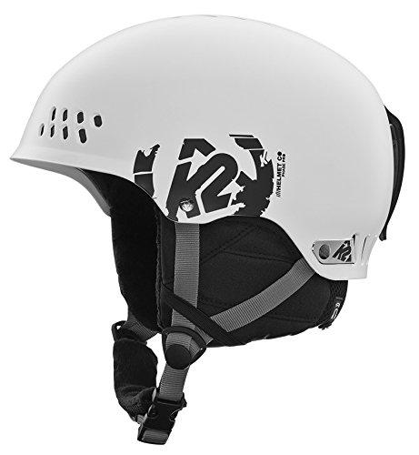 K2 Herren Skihelm Phase Pro, M, White