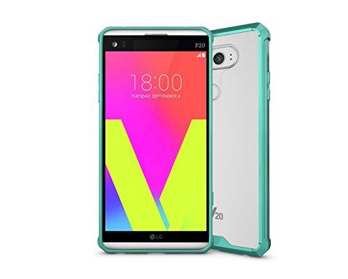 Aanib Kompatibel LG V20 Hülle, HD Transparent und Klar Ultra Dünn Hybrid Case Handyhülle für LG V20